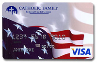 Catholic Family Federal Credit Union VISA Credit Card